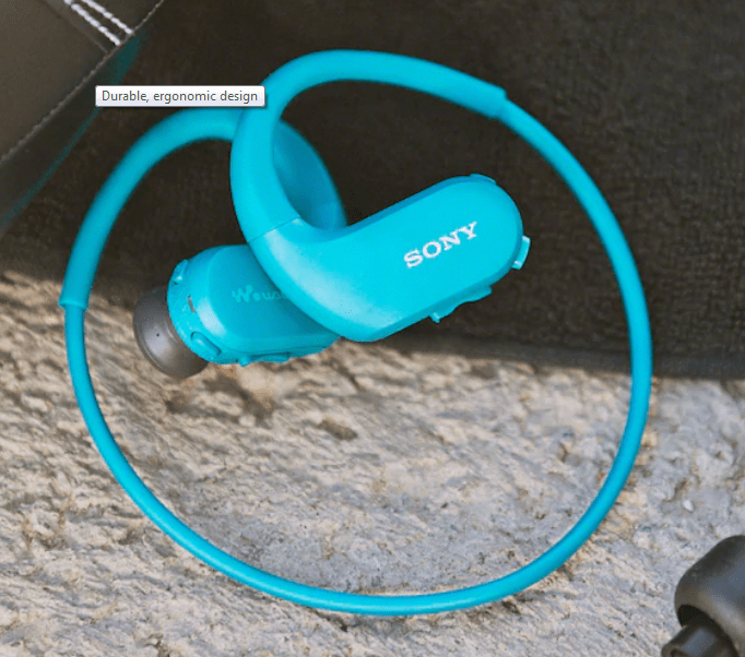 Sony NW-WS413​ Waterproof MP3 Player​