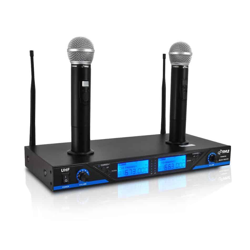 How to connect a wireless microphone to an amplifier